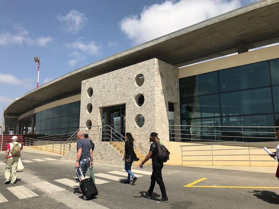 new terminal Sal airport