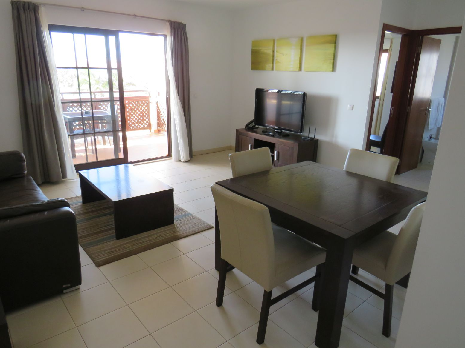 Tortuga Beach resort Cape Verde Property for sale living room