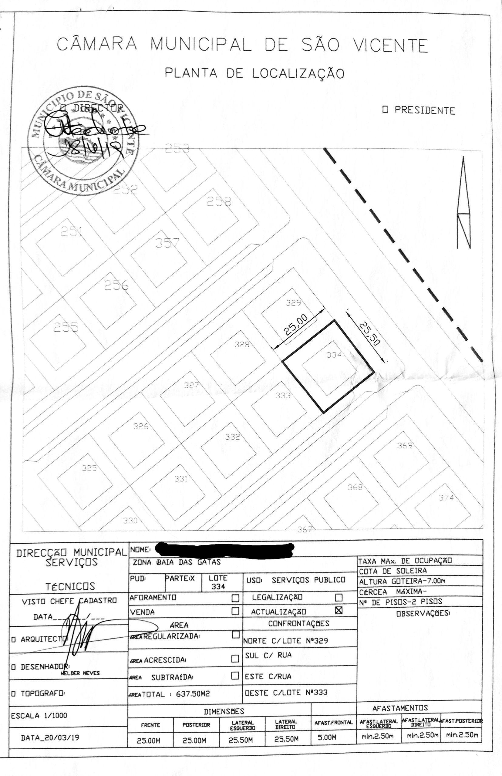 Location map Baia Das Gatas