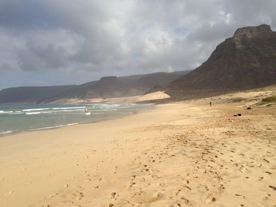 North Baia Beach Sao Vicente island