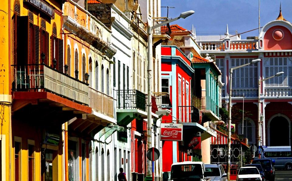 Rua Lisboa Mindelo Sao Vicente Cape Verde